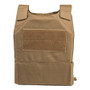 Spartan DL Concealment Plate Carrier  - coyote brown back