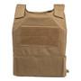 Spartan DL Concealment Plate Carrier  - coyote brown back