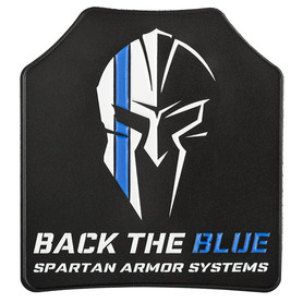 Back the Blue Spartan Armor Systems™ Morale Patch