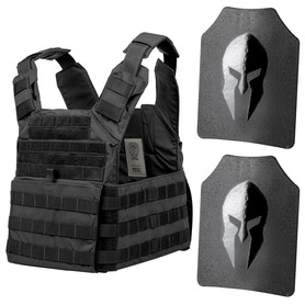 Spartan AR500 Omega and Wolf Bite Tactical body armor package