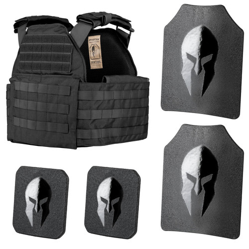 Special AR500 body armor and Sentinel Plate carrier package by Spartan Armor Systems