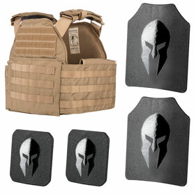 Spartan Sentinel Plate Carrier and Spartan™ Omega™ AR500 Body Armor Platform