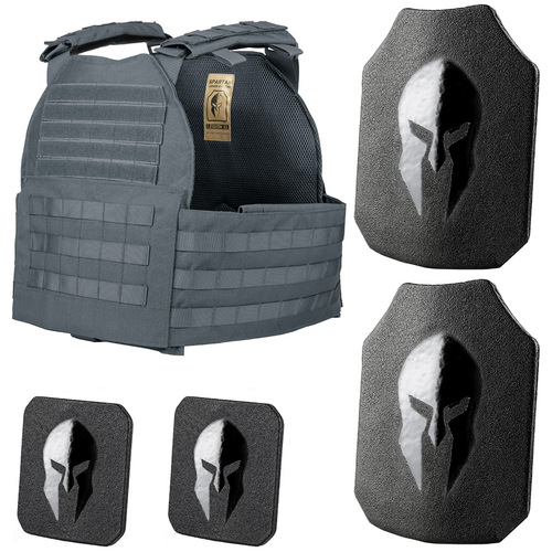 Legion XL plate carrier and AR550 body armor package.