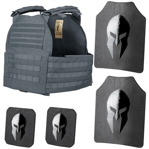 Legion XL plate carrier and Spartan Omega AR500 body armor package