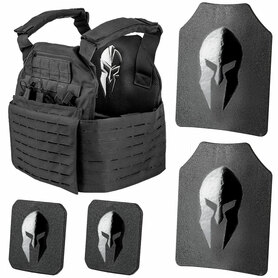 Spartan Omega AR500 Body Armor and Achilles Plate Carrier Package