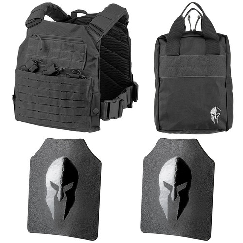 Spartan Omega AR500 Body Armor and Tactical Response Kit