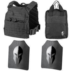 Spartan Omega AR500 Body Armor and Tactical Response Kit