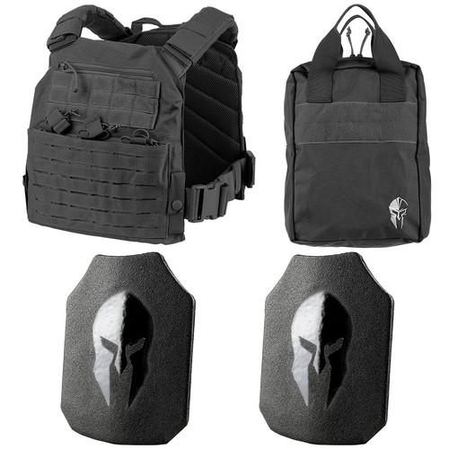 Spartan AR550 Body Armor and Tactical Response Kit