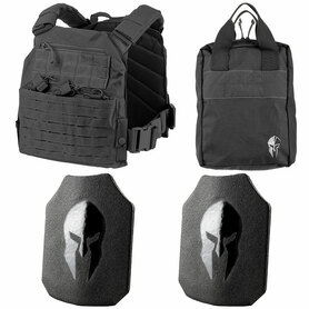 Spartan AR550 Body Armor and Tactical Response Kit
