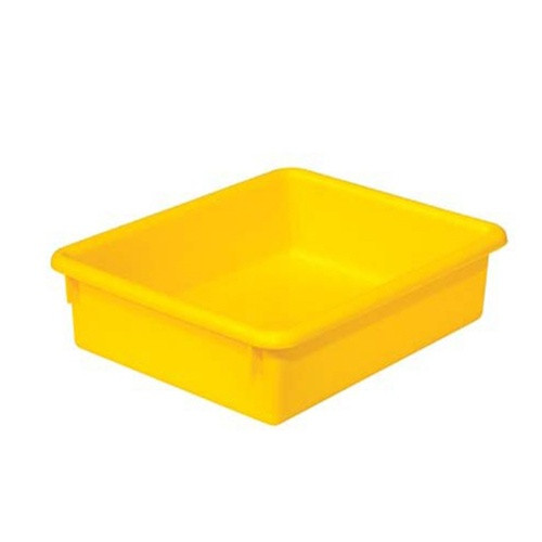 Wood Designs 3 inch Yellow Plastic Letter Tray | Classroom Storage