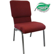 Advantage Maroon Church Chairs 18.5 in. Wide [PCHT185-104]
