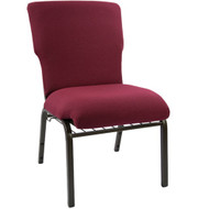 Advantage Maroon Discount Church Chair - 21 in. Wide [EPCHT-104]
