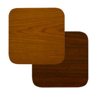"BFM Seating 24""x24"" Laminate Restaurant Table Top - Cherry / Dark Mahogany Reversible [CM2424]"