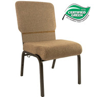 Advantage Mixed Tan Church Chair 20.5 in. Wide [PCHT-105]