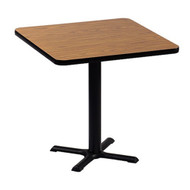 Correll BXB24S 24-in Square Bar Height Cafe Table