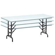 Correll RA2448 4 ft. Correll Adjustable Height Folding Tables