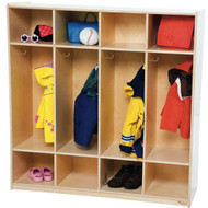 Wood Designs 4-Section Coat Locker - 49''H [15000-WDD]