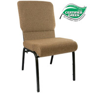 Advantage Mixed Tan Church Chairs 18.5 in. Wide [PCHT185-105]