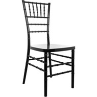Advantage Black Resin Chiavari Chair [RSCHI-B]