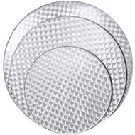 "BFM Seating Spectra 24"" Round Stainless Steel Restaurant Table Top [PH24R]"