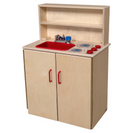 Wood Designs 3-N-1 Kids Play Kitchen Set [10600-WDD]