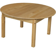 Wood Designs Round Wood School Table - 36'' Diameter x 21''H [83620-WDD]
