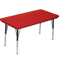 Correll 6 ft. Rectangular Activity Table - Blow-molded Plastic [AR3072-REC]