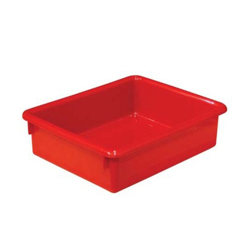 Wood Designs 3 inch Red Plastic Letter Tray | Classroom Storage