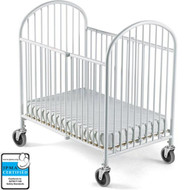Foundations Pinnacle Compact Steel Folding Crib [1331097]