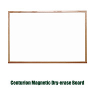 Ghent 4'x12' Traditional Centurion Wood Frame Whiteboard [M1W-412-4]