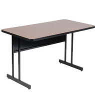 Correll 6 ft. Computer Table - Desk Height High Pressure Laminate Top [WS3072]