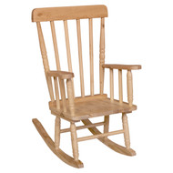 Wood Designs Children's Wooden Rocker with 10''H Seat [89010-WDD]