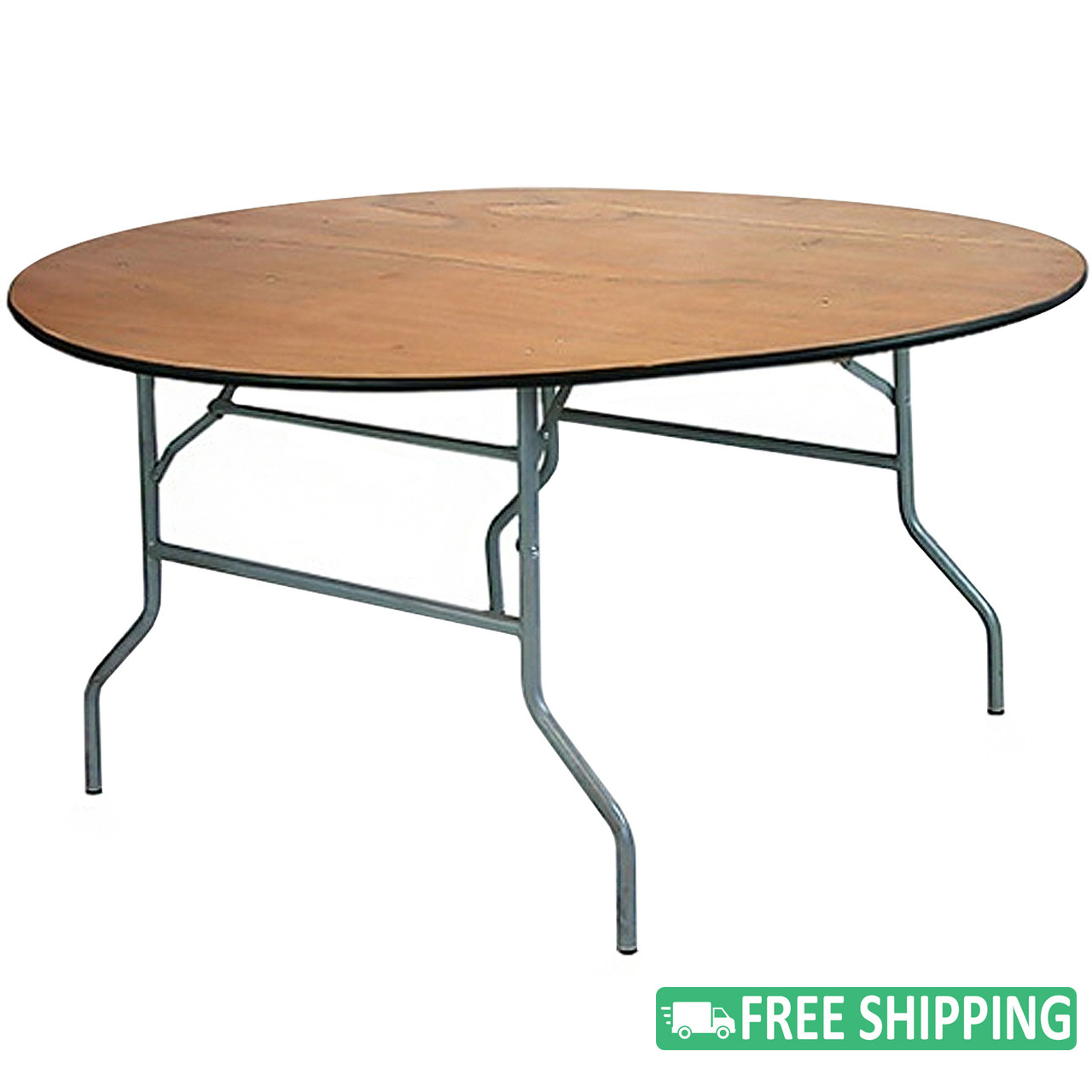 5 pack 60 inch 5 ft round wood folding banquet tables ftpw60r rh classroomessentialsonline com round banquet tables canada round banquet tables that seat 8
