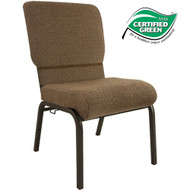 Advantage Jute Church Chair 20.5 in. Wide [PCHT-112]