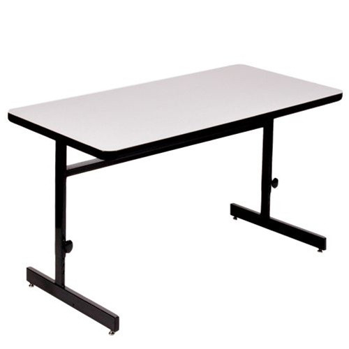 Adjustable Height Correll 6 Foot Computer Table Classroom Online