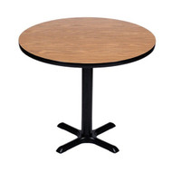 Correll BXB24R 24-in Round Bar Height Cafe Table