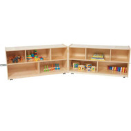 Wood Designs Folding Classroom Storage Unit [12500-WDD]