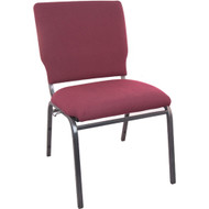 Advantage Maroon Multipurpose Church Chairs - 18.5 in. Wide [SEPCHT185-104]