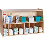 Foundations SafetyCraft Wall-Mounted Diaper Organizer [1672047]