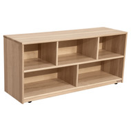 "Wood Designs Maple Single Classroom Storage Unit - 24""H [12420-WDD]"