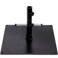 BFM Seating Market Umbrella Base - Stand Alone Use [UB75SQBL]