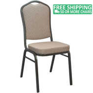 Advantage Mixed Tan Crown Back Banquet Chair [CBBC-108]