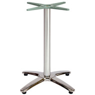 BFM Seating Stiletto 25x25-in. Bar & Restaurant Table Base [PHTB2525]