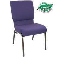 Advantage Eggplant Church Chair 18.5 in. Wide [PCHT185-115]