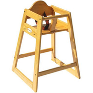 Foundations Natural Wood High Chair [4501049]