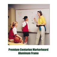 Ghent 4'x12' Premium Centurion Aluminum Frame Whiteboard [A2M412]