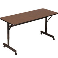 Correll 4 ft. Melamine EconoLine Flip Top Table [FT2448M]