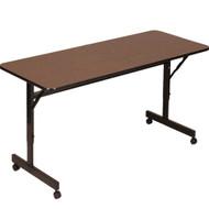 Correll 4 ft. Melamine EconoLine Flip Top Table [FT2448M]