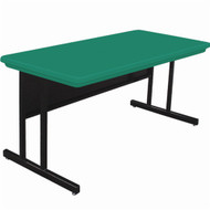 Correll 4 ft. Computer Table - Keyboard Height Blow-Molded Top [RCS2448]