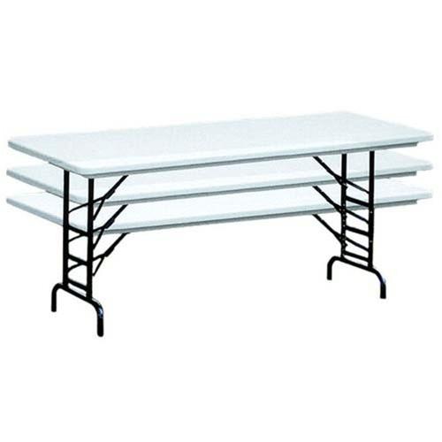Correll Ra3096 8 Ft Correll Adjustable Height Folding Tables
